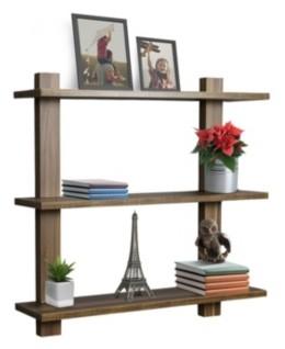 Sorbus 3 Tier Floating Shelves