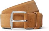 Loro Piana - 3.5cm Tan Suede Belt