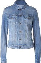 SEVEN FOR ALL MANKIND Pale Blue Jeans Jacket