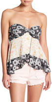 Free People Summer Scarf Strapless Cami