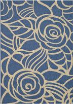 Asstd National Brand Courtyard Transitional Rose Indoor/Outdoor Rectangular Rugs