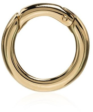 Foundrae 18kt yellow gold Chubby annex link charm