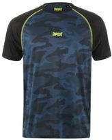 Tapout Mens Active Camo T Shirt Short Sleeve Performance Tee Top Crew Neck Round