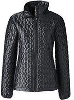 Classic Women's Petite Shimmer Packable Primaloft Jacket-Deep Slate