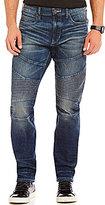 True Religion Geno Slim-Fitting Straight-Leg Moto In Urban Dweller Jeans