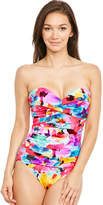 Miraclesuit Lovely Lady Barcelona Underwired Firm Control Bandeau Firm Control Swimsuit