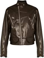 Nur vegan leather jacket