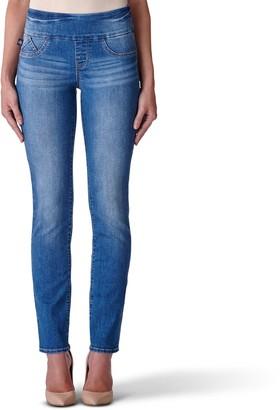 Rock & Republic Women's' Fever Midrise Pull-On Straight Leg Jeans
