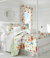 Piper & Wright Summerfield Scalloped Eyelet-Trimmed Watercolor Floral Comforter Set