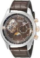 Zenith Men's 5121614047.75C El primero Analog Display Swiss Automatic Watch