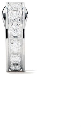 Boucheron 18kt white gold Quatre Radiant Edition single hoop earring