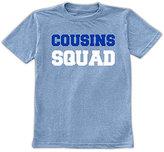Urban Smalls Heather Blue 'Cousins Squad' Tee - Toddler & Boys