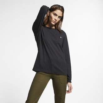 Nike Women's Long-Sleeve Top Hurley x Carhartt