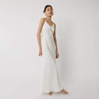 Warehouse SATIN CAMI BRIDESMAID DRESS