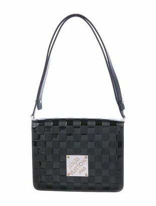 Louis Vuitton Damier Vernis Cabaret Bag Green