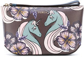 Furla printed make up bag - women - Leather - One Size