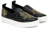 Chloé studded slip-on sneakers