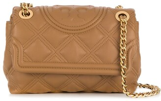 Tory Burch Branded Quilted Crossbody Bag