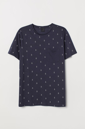 H&M Cotton T-shirt - Blue
