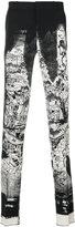 Alexander McQueen printed tailored trousers - men - Polyamide/Acetate/Viscose/Virgin Wool - 48