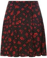 Dorothy Perkins Red Poppu Skater Skirt