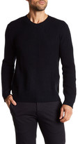 Autumn Cashmere Ribbed Geo Knit Sweater