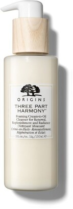 Origins Three Part Harmony Foaming Cream-to-oil Cleanser (150ml)