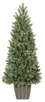 Philips 4ft Pre-Lit LED Artificial Christmas Tree Balsam Fir - White Lights
