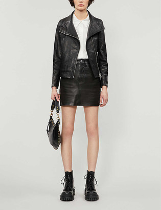 AllSaints Ellis leather jacket