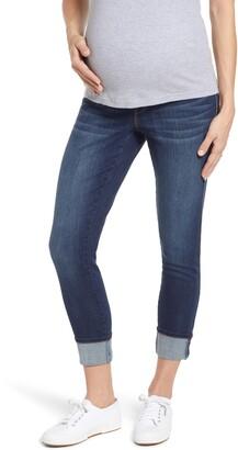 1822 Denim Clean Cuff Skinny Maternity Jeans