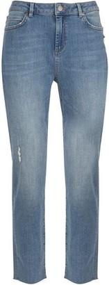 Mint Velvet Houston Pale Indigo Slim Jeans