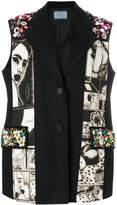Prada Alice sleeveless jacket