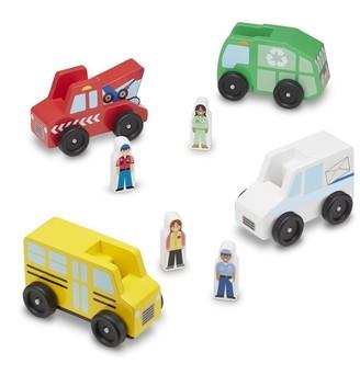 Melissa & Doug Vehicle Set Community