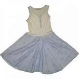Christian Dior White Cotton Dress