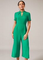Thumbnail for your product : Phase Eight Constance Cropped Jumpsuit