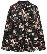 Violeta BY MANGO Floral print blouse