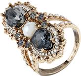 Accessorize Semi Precious Triple Ring