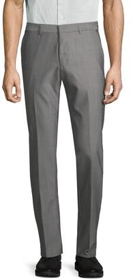 HUGO Flat-Front Wool Pants