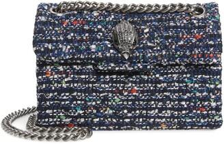 Kurt Geiger Mini Kensington Tweed Shoulder Bag