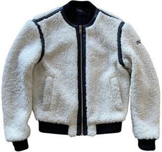 Giambattista Valli X H&m White Shearling Jackets