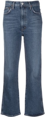 AGOLDE High-Rise Kick-Flare Jeans