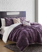 Jessica Sanders CLOSEOUT! Pom Pom 4-Pc. Twin Comforter Set