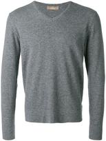 Cruciani V-neck jumper - men - Cashmere - S