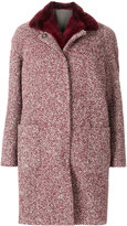 Eleventy removable gilet-lined coat