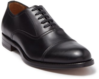 Antonio Maurizi Cap Toe Leather Oxford Dress Shoe
