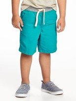 Old Navy Jersey-Knit Waist Flat-Front Shorts for Toddler