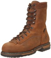 Rocky Men's Iron Clad Eight Inch LTT Steel Toe Work Boot