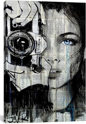 iCanvas Shootin by Loui Jover Giclee Print Canvas Art