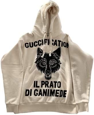 Gucci Beige Cotton Knitwear for Women