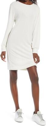 Fraiche by J Long Sleeve Sweater Dress